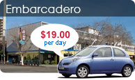 Embarcadero Car Rental